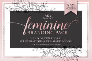 feminine logos