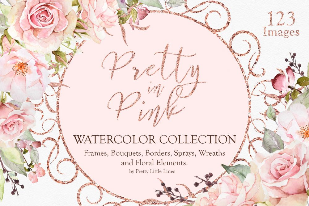pink rose png | pretty little lines
