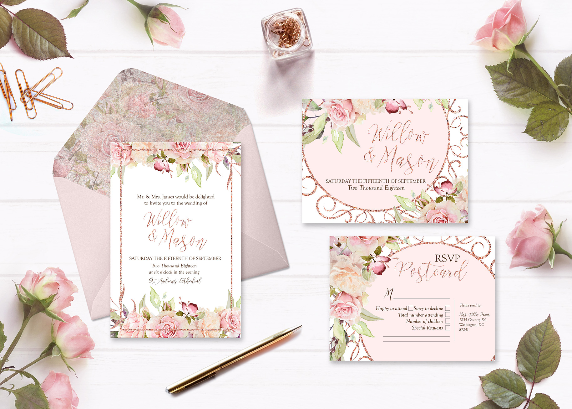 watercolor flowers pink rose png