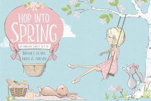 spring clipart illustration