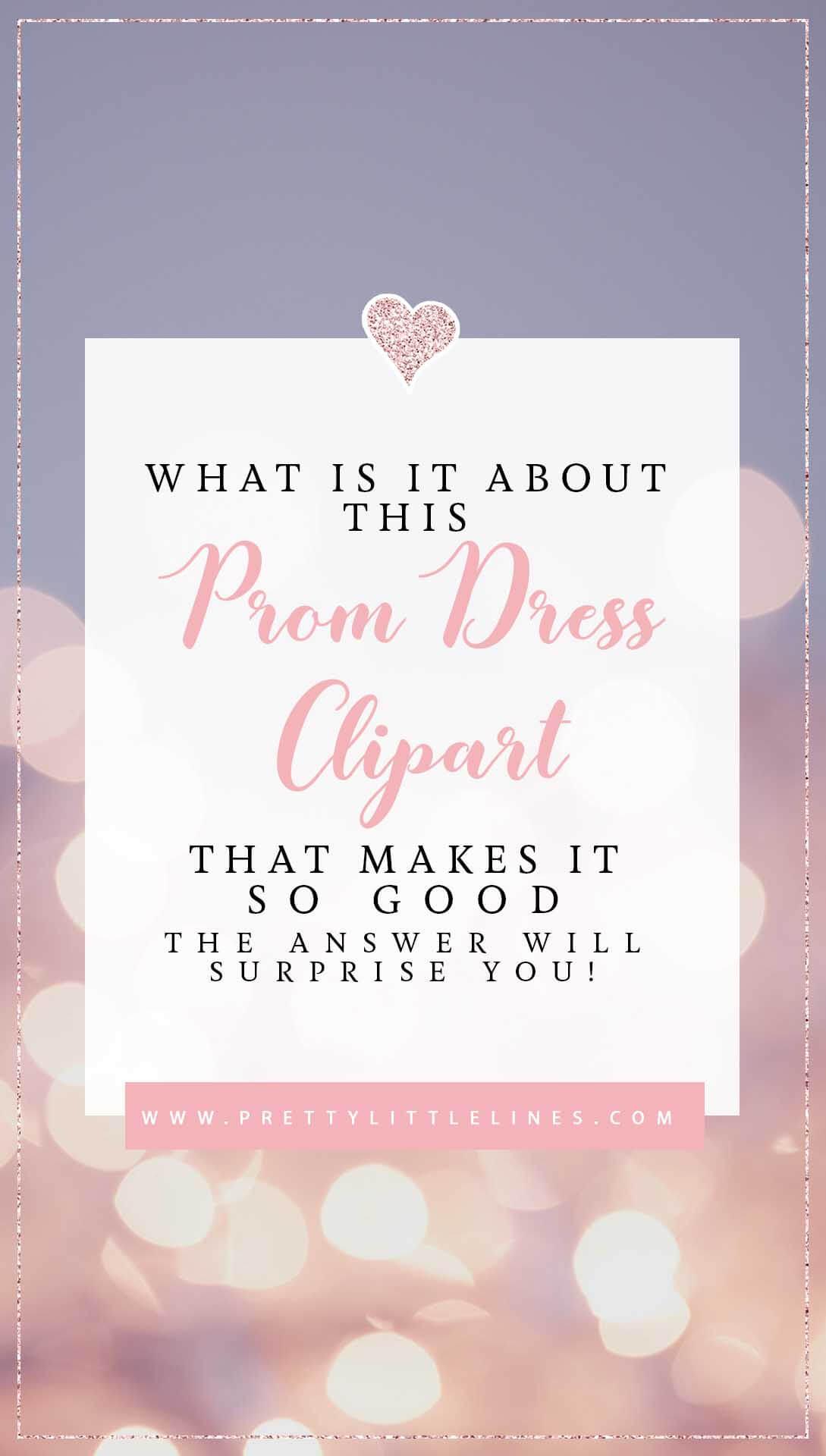 prom dress cliaprt