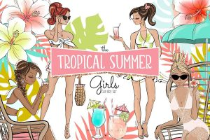 summer planner clipart