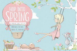 spring planner clipart